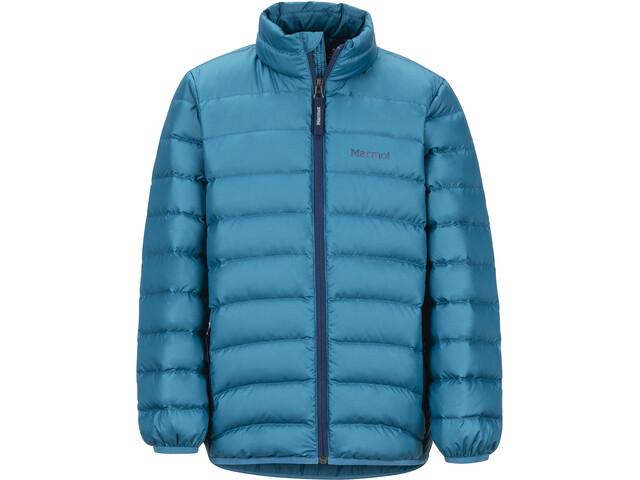 Marmot Highlander Daunenjacke Jungs moroccan blue